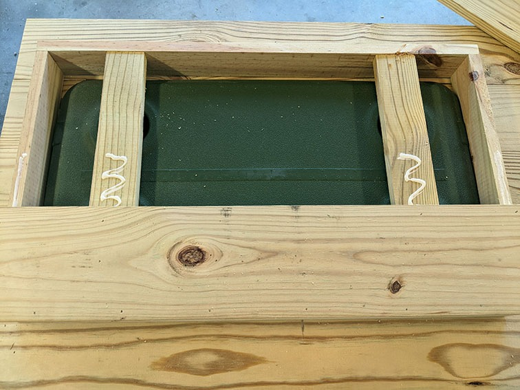 Lid box top paneling
